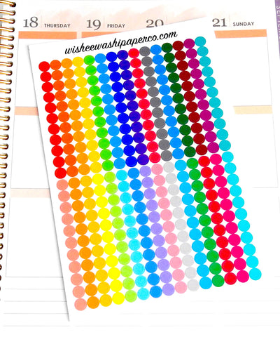 Dot Stickers - To Do Dot Stickers - To Do List Dot Stickers - Checklist Stickers - Planner Stickers