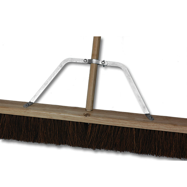 Push Broom Handle Braces