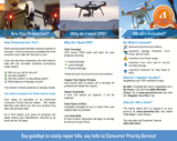 Consumer Priority Service Warranty - 1 Year Drone under $3000.00 (ACCIDENTAL