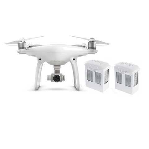 Phantom 4 Get Started Bundle! Phantom 4 + 2 Batteries + Nanuk Case + Extra Props!
