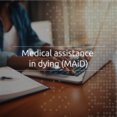 Medical assistance in dying (MAiD) (English, online, self-led)