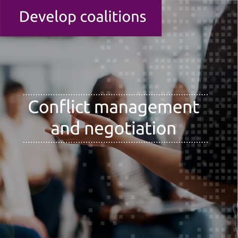 Conflict management and negotiation (CORE)