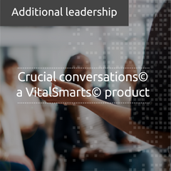 Crucial conversations© - a VitalSmarts© product (in-house)