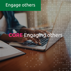 Engaging others (CORE) (online, facilitated)
