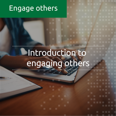 Introduction to engaging others (online, self-led)