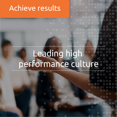 Leading High Performance Culture