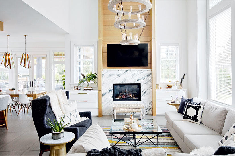 TWO SISTERS COMBINE THEIR STYLES FOR A CHIC, CONTEMPORARY DREAM HOME