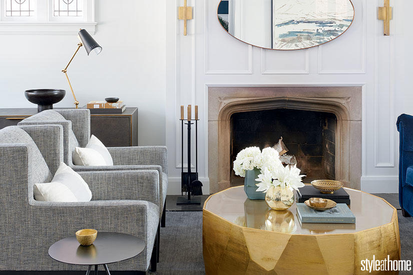 BEFORE & AFTER: AN EDWARDIAN-STYLE HOME GETS A CONTEMPORARY UPDATE