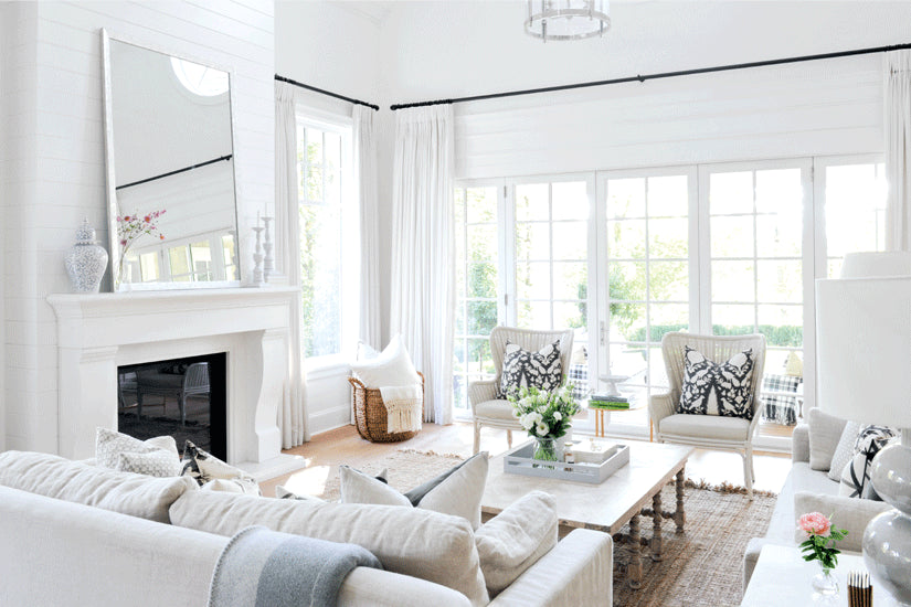 A WHITE-WASHED B.C. HOME WITH A MIX OF TRADITIONAL AND TRENDY ELEMENTS