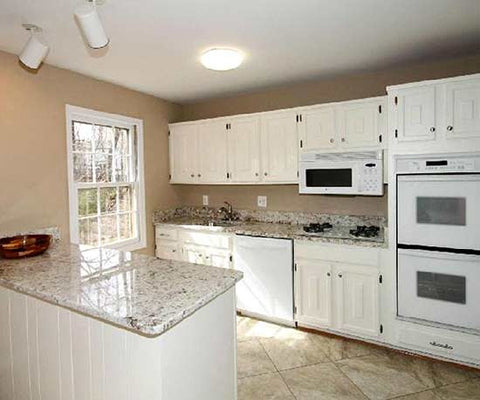 Thereu0027s Nothing Wrong With A Good Neutral Color Scheme, But Sometimes You  Can Have Too Much Of A Good Thing. This Suburban Kitchen Went From Bland  And Boxy ...