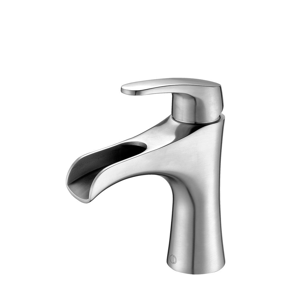 NORA Brushed Stainless Steel Vanity Faucet – Pearl Canada – Kitchen ...