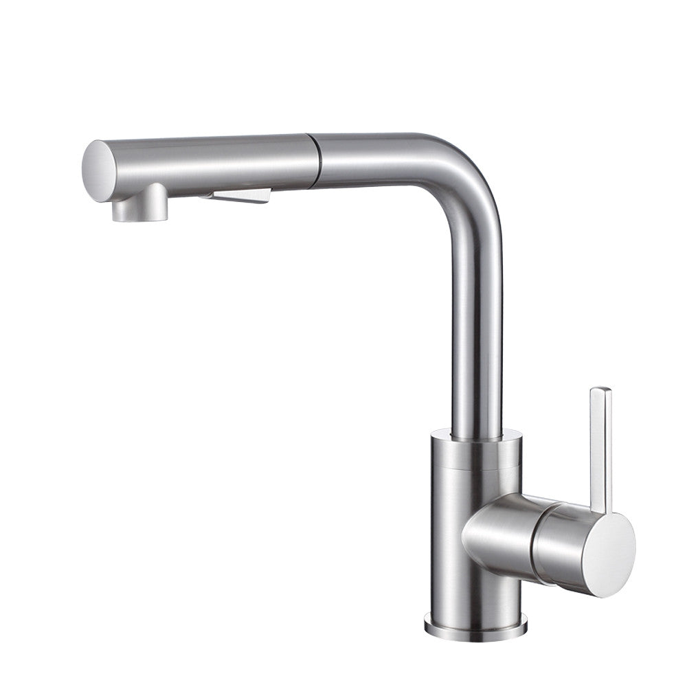Olivia Brushed Nickel Kitchen Faucet Pearl Canada Kitchen Sinks