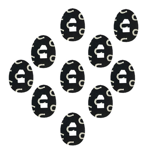 10 Pack Dexcom G4/G5 Oval Patch with Overtape