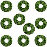 10 Pack Libre Circle Patches