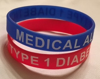 Silicone Bracelet (Now Available In Two Sizes)