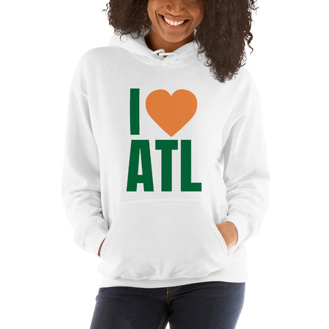 I Love ATL Hooded Sweatshirt