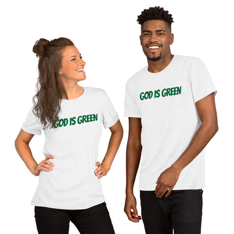 God is Green Short-Sleeve Unisex T-Shirt