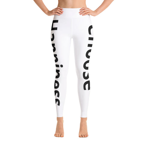 Choose Happiness Yoga Leggings