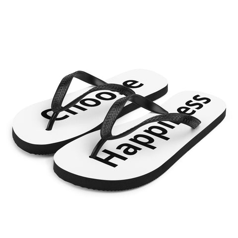 Choose Happiness Flip-Flops