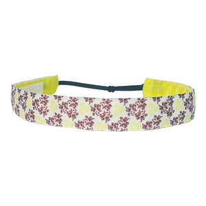 Vintage Flowers ~  Performance Adjustable Headband Hair Band For Women