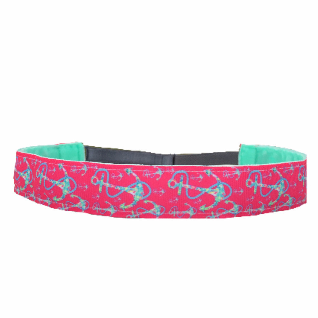 Falling For Anchors ~  Performance Adjustable Headband For Women
