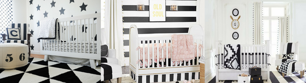 Black & White Nursery Inspiration | Be Bold and Get Inspired
