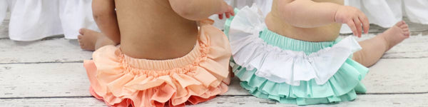 Ruffle Diaper Covers: 3 Perfect Occasions Where Your Little Girl Needs One