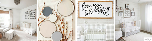 Top 3 Must Haves for a Rustic Farmhouse Nursery Design