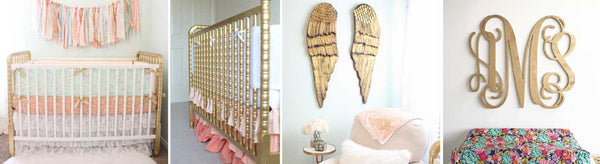 5 Stunning Ways to Incorporate Gold Nursery Accents