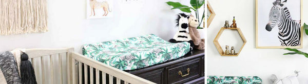 A Modern Jungle Safari Nursery