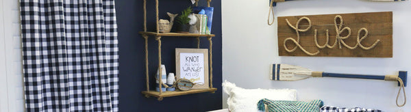 Luke's Navy Nautical Nursery