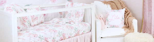 Blushing for this Blush Rose Nursery Design