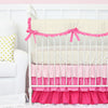 Pink and Gold Baby Bedding