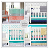 Teal Baby Bedding