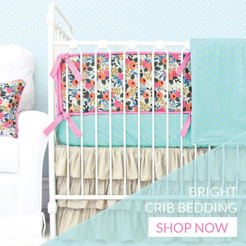 Shop Colorful Crib Bedding for the Nursery