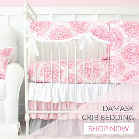 Shop Damask Crib Bedding for the Nursery