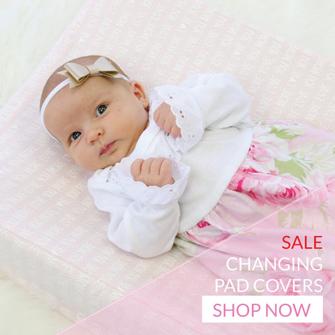 Shop all SALE changing pad covers