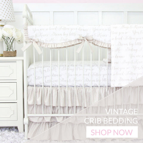 Shop Vintage-Inspired Nursery Bedding Sets