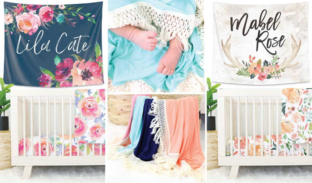 New Boho Crib Bedding, Tapestries, and Fringe Swaddles You'll Love!