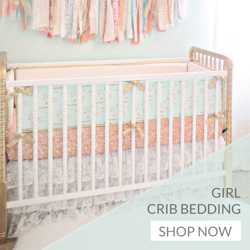 Shop All Baby Girl Crib Bedding Collections