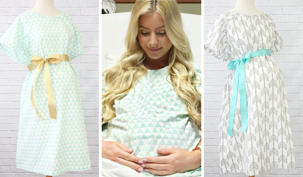 Trendy Hospital Gowns for Every Mommy-to-Be | Caden Lane