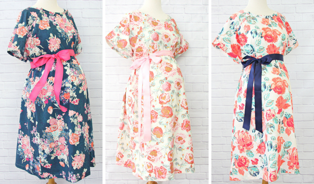 Floral Maternity Hospital Gowns