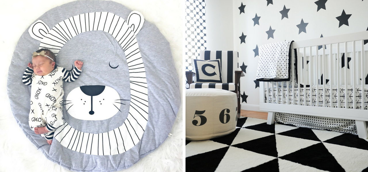 Multifunctional Aspects of a Black & White Nursery