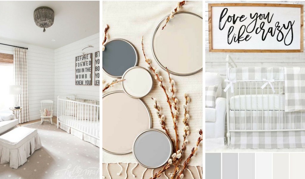 #1 Must Have for a Rustic Farmhouse Nursery Design: A Neutral Color Scheme