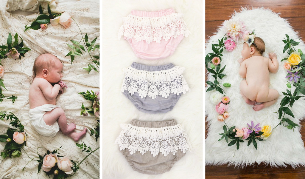 Boho Diaper Covers - Perfect for Newborn Photos