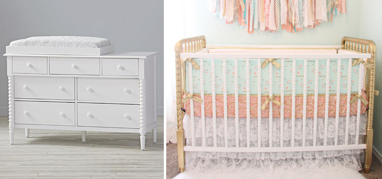 The minimum you need for your nursery with or without a theme - the furniture