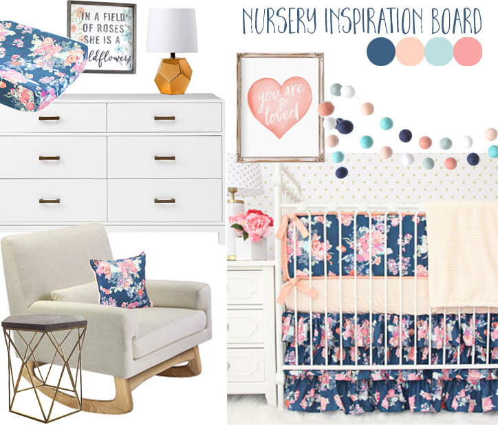 Nursery Inspiration Board Example