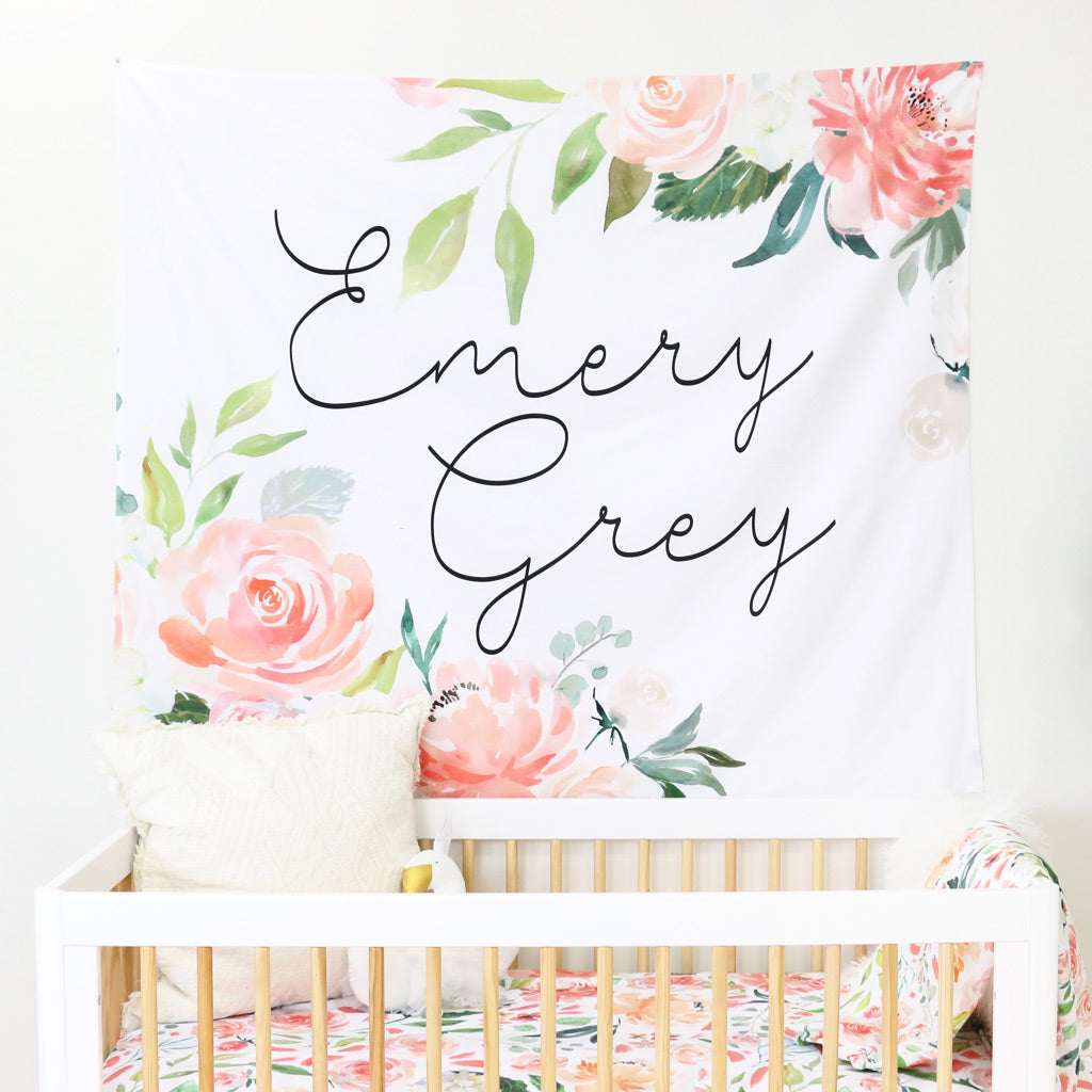 Shop Personalized Wall Tapestries for the Nursery