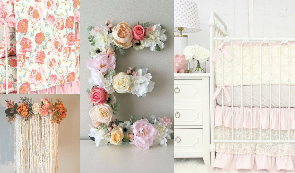 Boho Chic  Nursery Style & Inspiration for a baby girl