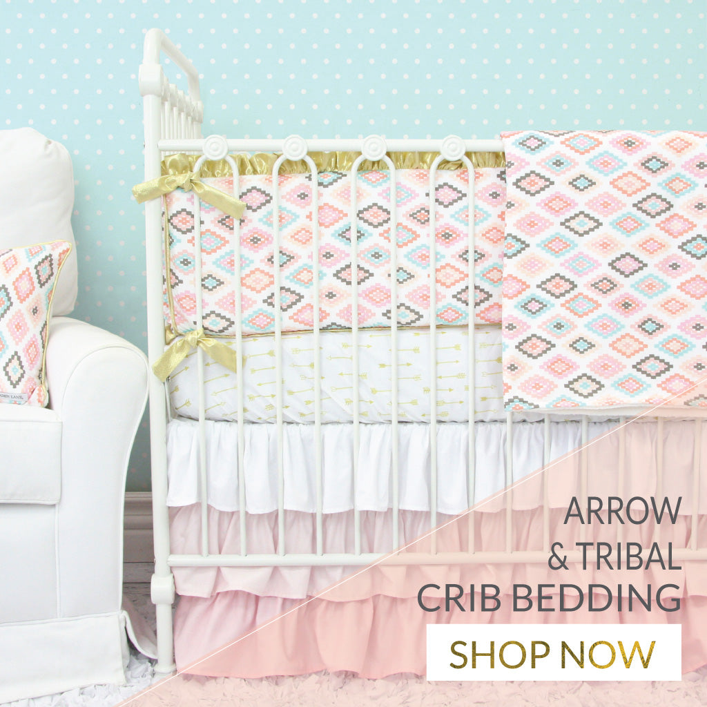 Shop Tribal Crib Bedding for Your Baby Girl